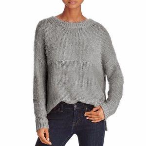 BELTAINE Fuzzy Crewneck Sweater